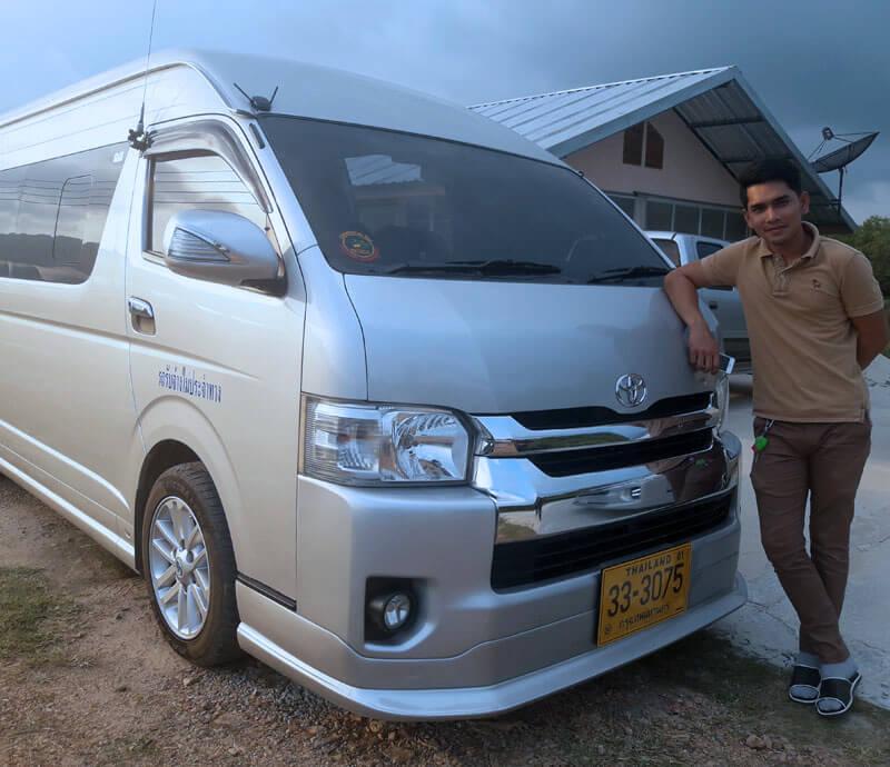 รถตู้เช่าสุราษฎร์ธานี Surat Vans ยินดีให้บริการ