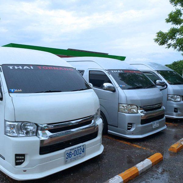 Surat Vans รถตู้ให้เช่าสุราษฎร์ธานี ยินดีให้บริการ